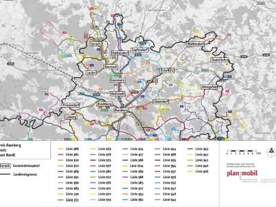 Mobilitätskonzept für den Landkreis Bamberg geht in die Analyse