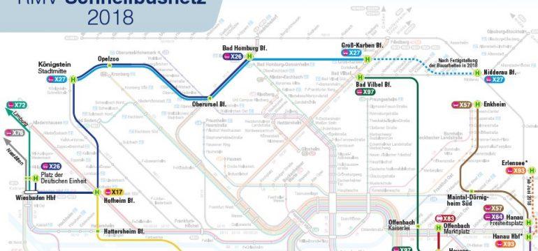 Schnellbusnetz im RMV-Gebiet wird erweitert!